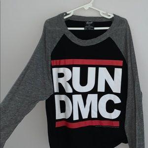 RUN DMC Top